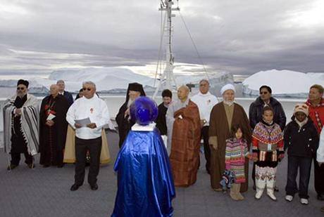 Βαρθολομαίος συμπροσεύχεται με 12 ηγέτες